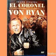 Cine: PELÍCULA EN DVD DE CINE BÉLICO: EL CORONEL VON RYAN (OCASIÓN). Lote 265412649