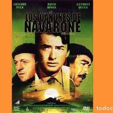 Cine: PELÍCULA EN DVD DE CINE BÉLICO: LOS CAÑONES DE NAVARONE (OCASIÓN). Lote 265413149