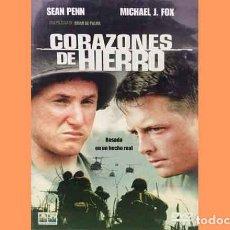 Cine: PELÍCULA EN DVD DE CINE BÉLICO: CORAZONES DE HIERRO (OCASIÓN). Lote 265413544