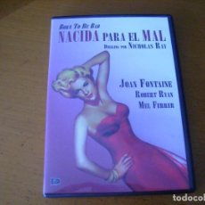 Cine: NACIDA PARA EL MAL - NICHOLAS RAY. Lote 265518139