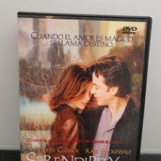 Cinema: SERENDIPITY. DVD 2 DISCOS. JOHN CUSACK, KATE BECKINSALE, JEREMY PIVEN, MOLLY SHANNON. Lote 265941848
