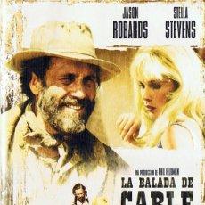 Cine: LA BALADA DE CABLE HOGUE JASON ROBARDS. Lote 266157103