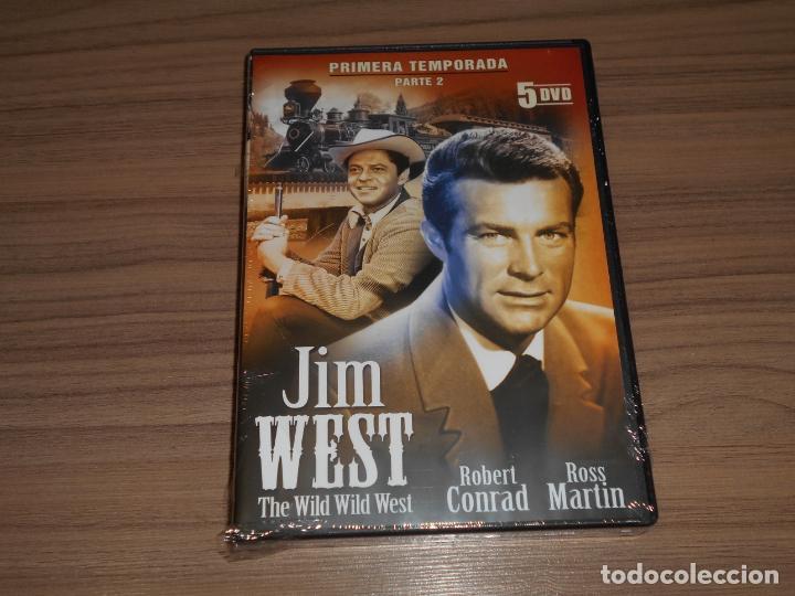 JIM WEST THE WILD WEST TEMPORADA 1 5 DVD 672 MIN. NUEVA PRECINTADA (Cine - Películas - DVD)