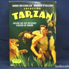 Cine: COLECCION TARZAN - DVD. Lote 266488318