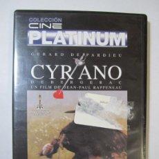Cine: DVD CYRANO DE BERGERAC GERARD DEPARDIEU. Lote 266658288