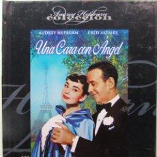 Cine: DVD LIBRO UNA CARA CON ÁNGEL. AUDREY HEPBURN. FRED ASTAIRE. ANDREY HEPBURN COLECCIÓN.. Lote 266658883