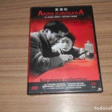 Cine: EL ANGEL EBRIO DVD DE AKIRA KUROSAWA NUEVA PRECINTADA. Lote 288868053