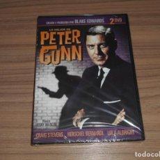 Cine: LO MEJOR DE PETER GUNN EDICION ESPECIAL 2 DVD 450 MIN. DE BLAKE EDWARDS NUEVA PRECINTADA. Lote 288867463