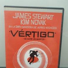 Cinema: VÉRTIGO. DVD EDICIÓN 50 ANIVERSARIO 2 DISCOS. ALFRED HITCHCOCK, JAMES STEWART, KIM NOVAK(ENVÍO 2,50€. Lote 266275543