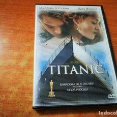 Cine: TITANIC DVD PRECINTADO DEL AÑO 1999 ESPAÑA LEONARDO DICAPRIO KATE WINSLET JAMES CAMERON. Lote 267107364