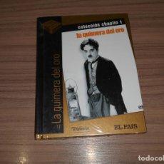 Cine: LA QUIMERA DEL ORO EDICION ESPECIAL DVD + LIBRO 60 PAG. CHARLES CHAPLIN NUEVA PRECINTADA. Lote 267181879