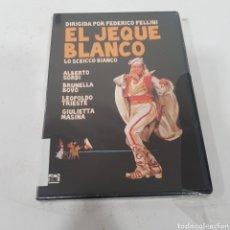 Cinema: B224 EL JEQUE BLANCO -DVD NUEVO PRECINTADO. Lote 267192464