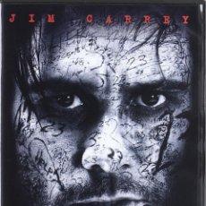 Cine: EL NUMERO 23 DVD - THRILLER DESCATALOGADO Y CON JIM CARREY. Lote 267195709