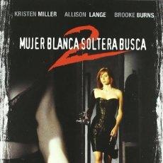 Cine: MUJER BLANCA SOLTERA BUSCA 2 - DVD DESCATALOGADO CON KRISTEN MILLER. Lote 267196299
