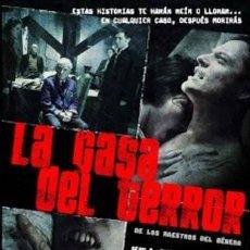 Cine: LA CASA DEL TERROR DVD - DE LOS MAESTROS SEAN S. CUNNIGHAM, JOE DANTE, KEN RUSSELL. Lote 267196609