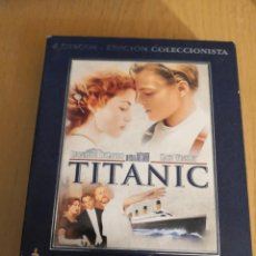 Cine: PELÍCULA TITANIC EDICION COLECCIONISTA DE LUJO 4 DVD JAMES CAMERON. Lote 267334864