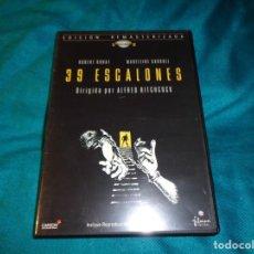 Cine: 39 ESCALONES. . ALFRED HITCHCOCK. EDICION REMASTERIZADA. DVD. Lote 267367784