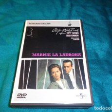 Cine: MARNIE, LA LADRONA. SEAN CONNERY. THE ALFRED HITCHCOCK COLLECTION. DVD. Lote 267389949