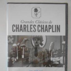 Cine: EL GRAN DICTADOR. DVD DE LA MEMORABLE PELICULA DE CHARLES CHAPLIN. NUEVO A ESTRENAR.. Lote 267614749