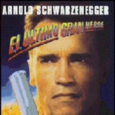 Cine: EL ÚLTIMO GRAN HÉROE DIRECTOR: JOHN MCTIERNAN ACTORES: ARNOLD SCHWARZENEGGER, F. MURRAY ABRAHAM. Lote 267750069
