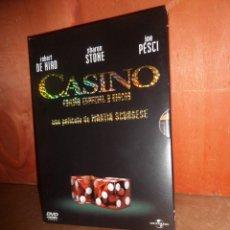 Cinéma: CASINO - MARTIN SCORSESE - ROBERT DE NIRO - EDICION ESPECIAL 2 DVDS - DISPONGO DE MAS DVDS. Lote 267750134