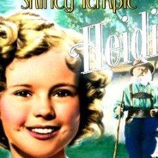 Cine: HEIDI SHIRLEY TEMPLE DVD. Lote 268106479