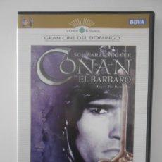 Cine: CONAN EL BARBARO. DVD DE LA PELICULA DE ARNOLD SCHWARZENEGGER.. Lote 268408324