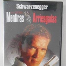 Cine: MENTIRAS ARRIESGADAS. DVD DE LA PELICULA DE JAMES CAMERON. CON ARNOLD SCHWARZENEGGER.. Lote 268411504