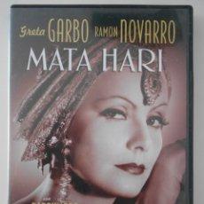 Cine: MATA HARI. DVD DE LA PELICULA DE GRETA GARBO, RAMON NOVARRO, LIONEL BARRYMORE Y LEWIS STONE.. Lote 268412779