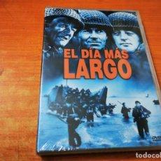 Cine: EL DIA MAS LARGO DVD PRECINTADO 2001 ESPAÑA HENRY FONDA JOHN WAYNE SEAN CONNERY ROBERT MICHUM. Lote 268438999