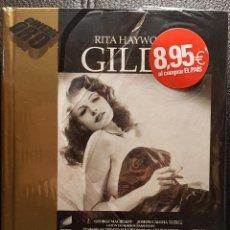 Cine: GILDA - DVD - COLECCION CINE DE ORO - CON LIBRETO - PRECINTADA - RITA HAYWORTH - NO USO CORREOS. Lote 268455789