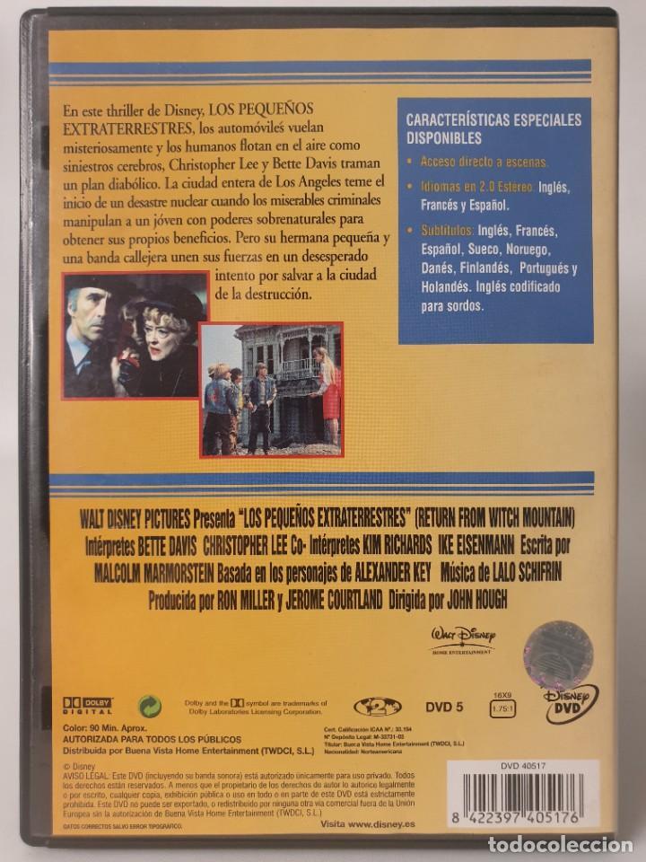 """Cine: Los pequeños extraterrestres (1978) Secuela de """"La montaña embrujada"""" Cine familiar Aventuras Disney - Foto 4 - 268475679"""