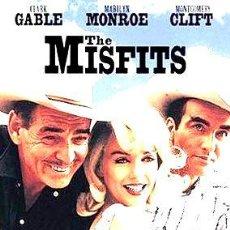 Cine: LOS INADAPTADOS JOHN HUSTON MARILYN MONROE DVD. Lote 268484279