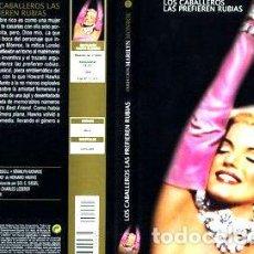 Cine: LOS CABALLEROS LAS PREFIEREN RUBIAS MARILYN MONROE DVD. Lote 268490869