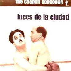 Cine: LUCES DE LA CIUDAD CHARLES CHAPLIN ED ESPECIAL. Lote 268491274