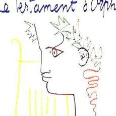 Cine: EL TESTAMENTO DE ORFEO J COCTEAU PABLO PICASSO DVD. Lote 268500939