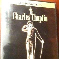 Cine: PELICULA DVD CHARLES CHAPLIN 5 EPISODIOS. Lote 268501734