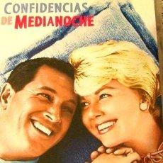Cine: DVD CONFIDENCIAS DE MEDIANOCHE ROCK HUDSON DORIS DAY. Lote 268504609