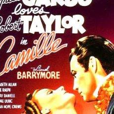 Cine: LA DAMA DE LAS CAMELIAS GRETA GARBO ROBERT TAYLOR DVD. Lote 268505629