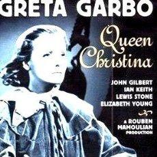 Cine: LA REINA CRISTINA DE SUECIA GRETA GARBO DVD. Lote 268508229