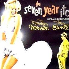 Cine: LA COMEZON DEL SEPTIMO ANO MARILYN MONROE DVD. Lote 268510509
