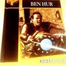 Cine: BEN HUR 2 DVD LIBRO COMO NUEVOS CHARLTON HESTON. Lote 268513659