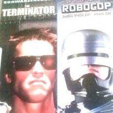 Cine: DOUBLE FEATURE THE TERMINATOR DVD ROBOCOP DVD. Lote 268514349