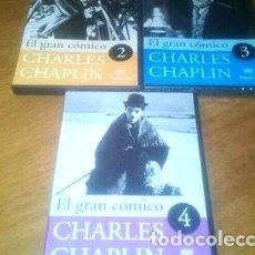 Cine: CHARLES CHAPLIN EL GRAN COMICO DVD ORIGINAL VOL 234. Lote 268516279