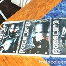 Cine: ROBOCOP 1 2 Y 3 DVD ORIGINAL. Lote 268519749