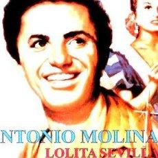 Cine: MALAGUENA ANTONIO MOLINA LOLITA SEVILLA JOSE PRADA. Lote 268526179
