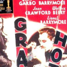 Cine: DVD GRAN HOTEL GRETA GARBO JOAN CRAWFORD NUEVA. Lote 268530039