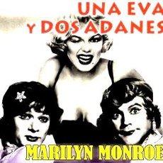 Cine: UNA EVA Y DOS ADANES MARILYN MONROE T CURTIS J LEMMON. Lote 268530754