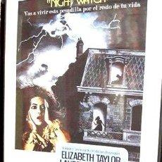 Cine: UNA HORA EN LA NOCHE DVD ELIZABETH TAYLOR TERROR RETRO. Lote 268540049
