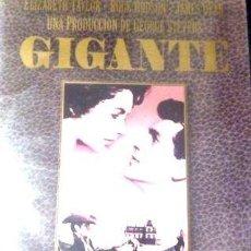 Cine: DVD GIGANTE ROCK HUDSON ELIZABETH TAYLOR JAMES DEAN. Lote 268540389